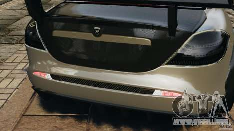 Mercedes-Benz SLR Volcano 2008 Hamann v1.0 para GTA 4