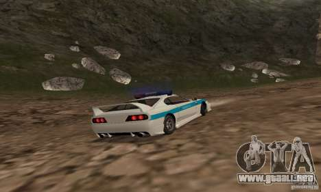 Jester Russian Police para visión interna GTA San Andreas