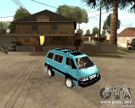 Toyota Town Ace para GTA San Andreas left
