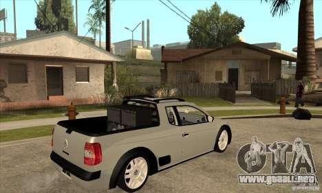 Volkswagen Saveiro G5 para la visión correcta GTA San Andreas