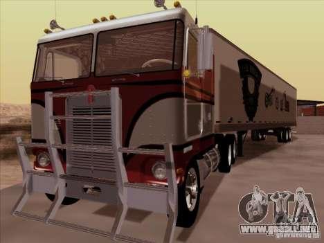 Kenworth K100 para GTA San Andreas left