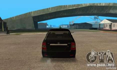 Hatchback LADA priora 2172 para la visión correcta GTA San Andreas