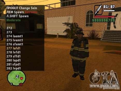GTA IV peds to SA pack 100 peds para GTA San Andreas sucesivamente de pantalla