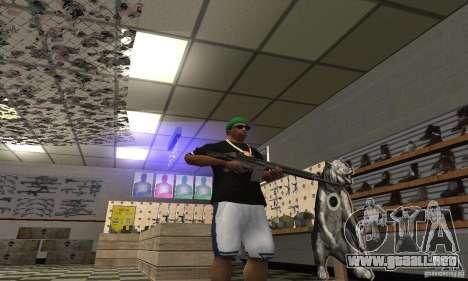 Heckler & Koch HK-33 para GTA San Andreas tercera pantalla