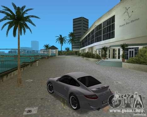 Porsche 911 Sport para GTA Vice City visión correcta