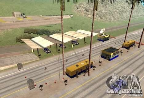 Puesto de policía 2 para GTA San Andreas