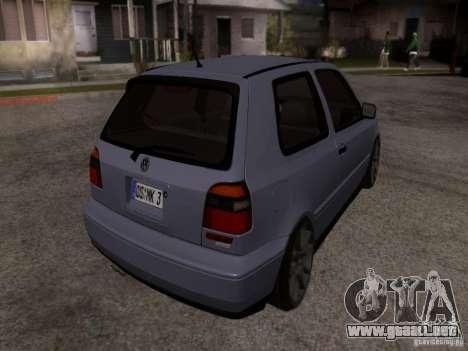 Volkswagen Golf 3 VR6 para GTA San Andreas left