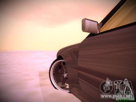 BMW M3 Drift para GTA San Andreas left