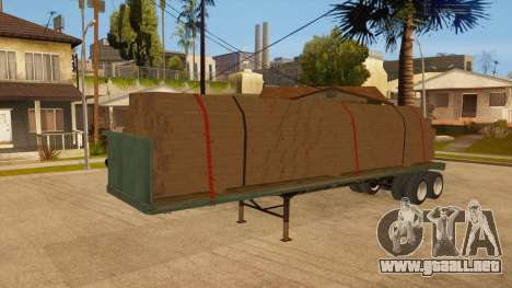 Arrastre para la vista superior GTA San Andreas