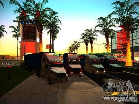 ENBSeries v1.0 por GAZelist para GTA San Andreas novena de pantalla