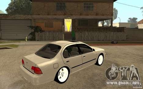 Nissan Maxima 1998 para la visión correcta GTA San Andreas