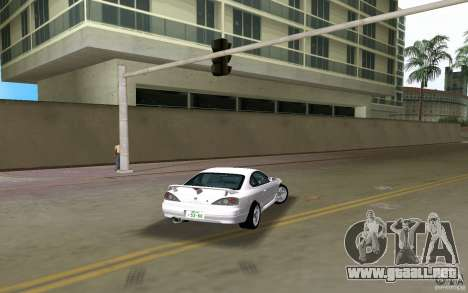 Nissan Silvia spec R Light Tuned para GTA Vice City left