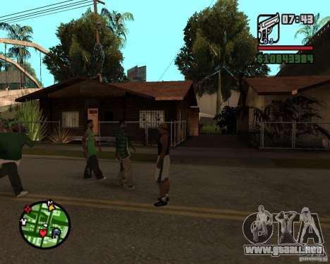 Ayuda bratkov para GTA San Andreas tercera pantalla