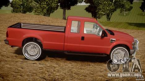 Ford F350 V8 2006 para GTA 4 vista interior