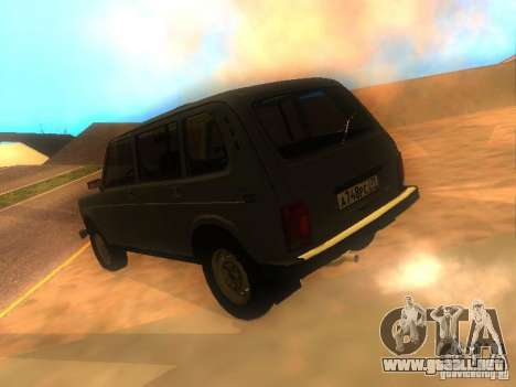 Vaz 2131 NIVA para GTA San Andreas left