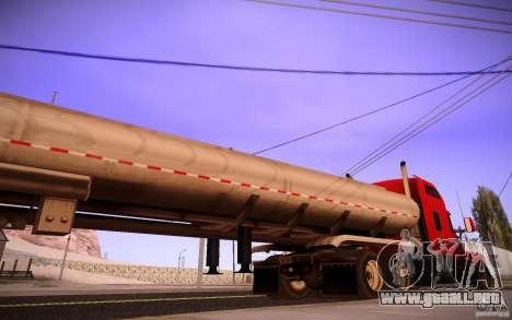 Kenworth T600 para vista lateral GTA San Andreas