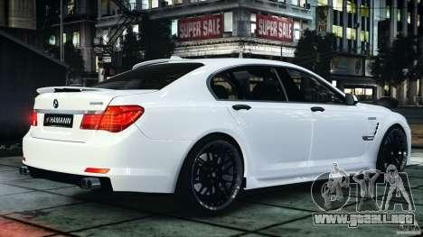 Bmw 750li Hamann para GTA 4 left