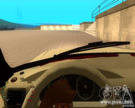 GAZ Volga 2410 el Cabrio para GTA San Andreas vista hacia atrás