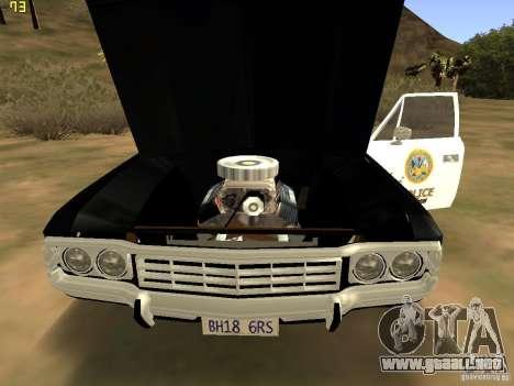 AMC Matador SA Police 1971 Final para la visión correcta GTA San Andreas