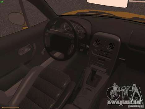 Mazda MX-5 1997 para visión interna GTA San Andreas