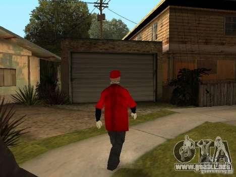 JabbaWockeeZ Skin para GTA San Andreas sexta pantalla