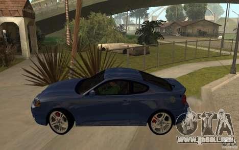 Hyundai Tiburon Jc2 para GTA San Andreas left