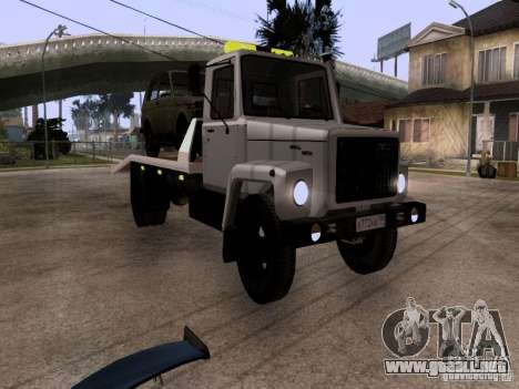 GAZ 3309 grúa para GTA San Andreas left