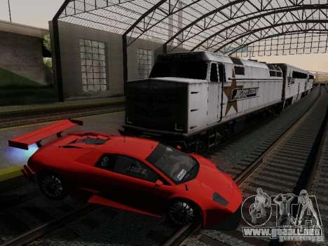 Crazy Trains MOD para GTA San Andreas segunda pantalla