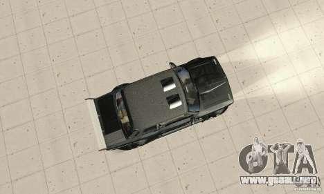 Tunning 2106 VAZ Fantasy ART para la visión correcta GTA San Andreas
