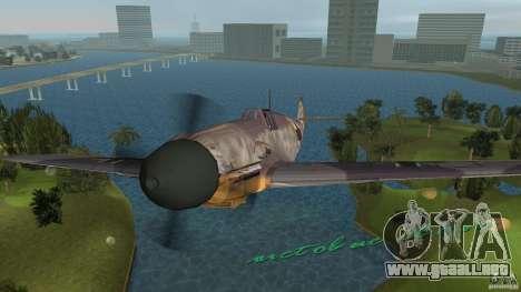 WW2 War Bomber para GTA Vice City visión correcta