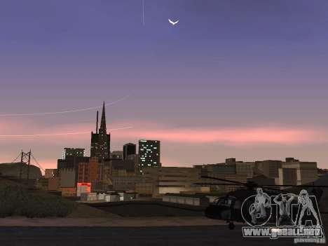 El helicóptero de CoD 4 MW para visión interna GTA San Andreas