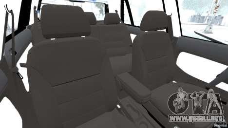 Volkswagen Golf Sportline 2011 para GTA 4 vista interior