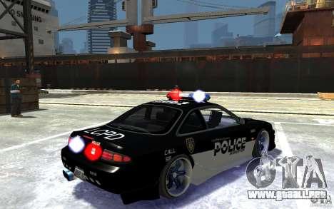 Nissan 200SX Police v0.2 para GTA 4 visión correcta