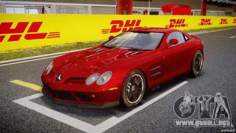 Mercedes-Benz McLaren SLR 722 v2.0 para GTA 4 left