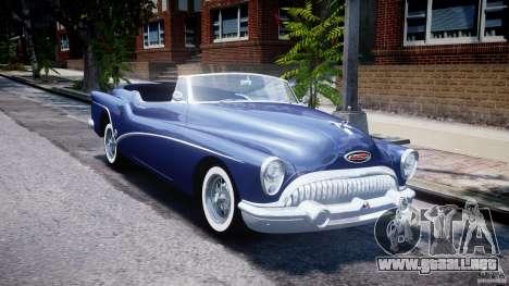 Buick Skylark Convertible 1953 v1.0 para GTA 4 vista lateral