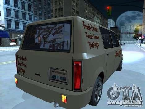 Hot Dog Moonbeam para la visión correcta GTA San Andreas