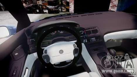 Nissan 300 ZX 1994 v1.0 para GTA 4 vista hacia atrás