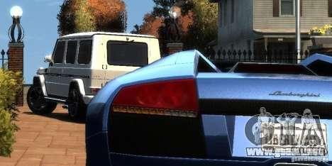 Mercedes-Benz G65 AMG [W463] 2012 para GTA 4 visión correcta