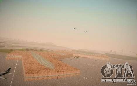New San Fierro Airport v1.0 para GTA San Andreas sexta pantalla