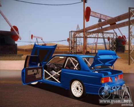 BMW M3 E30 para visión interna GTA San Andreas