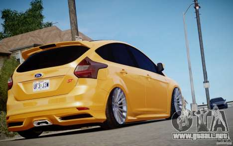 Ford Focus ST Mk.III 2013 para GTA 4 vista interior