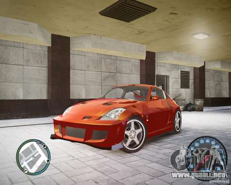 Nissan 350Z Z33 para GTA 4
