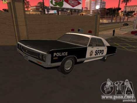 Chrysler New Yorker Police 1971 para GTA San Andreas