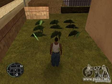 Marihuana v2 para GTA San Andreas quinta pantalla