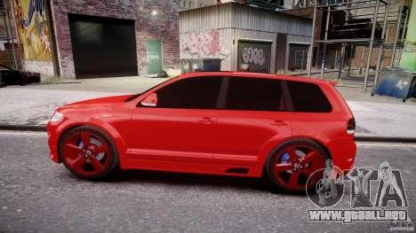 Volkswagen Touareg R50 2008 Tune (Beta) para GTA 4 vista interior