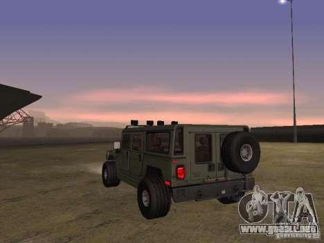 Hummer H1 para la visión correcta GTA San Andreas