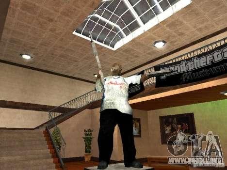 GTA Museum para GTA San Andreas tercera pantalla