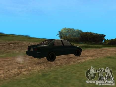 Toyota Camry Arabian Tuning para GTA San Andreas vista posterior izquierda