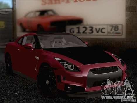 Nissan GTR Edited para GTA San Andreas