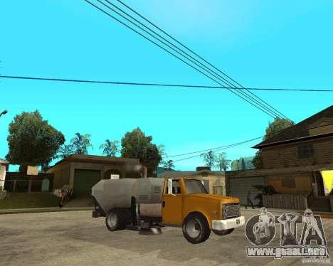 Camión de limpieza para la visión correcta GTA San Andreas